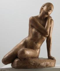 01 - Bagnante al sole - bronzo cm 64x51x53 -