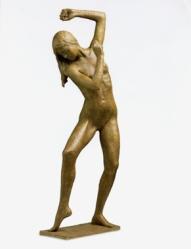 03 - Danzatrice - 2007, bronzo altezza cm 85 -