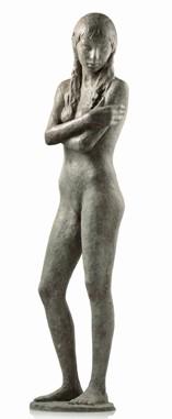 18 - Giovinetta - 2010 bronzo altezza cm 81 -
