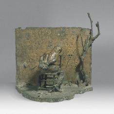 39 - Fucilazione (bronzo cm32x21x35 1976)