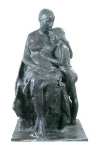 80 - Attesa - bonzo 1978 cm 87 x 52 x 49